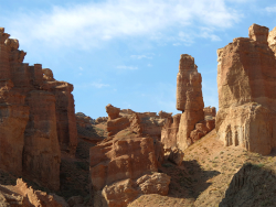 "Canyon Charyn ""Valley of Castles"". Kazakhstan."
