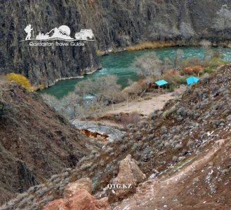 Canyon Charyn «Valley of Castles». Kazakhstan.