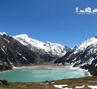 """Big Almaty Lake"" 2511 m. Zailiysky Alatau. Kazakhstan."
